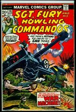 Marvel Comics SGT. FURY And His HOWLING COMMANDOS #118 FN 6.0