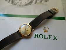 18K SOLID GOLD ROLEX CELLINI REF# 4083 MOVEMENT 1601 MSRP$9995.00