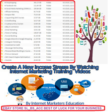 Courses for Ecommerce Amazon FBA Affiliate Marketing Fb Ad SEO price for one itm