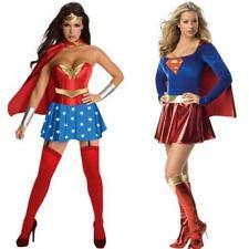ladies fancy dress costumes in Wonder Woman & super girl superhero lady's