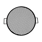 Round Cooking Grate X Marks Heavy-Duty Steel Round Fire Pit Grill photo