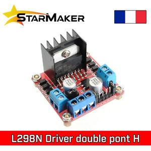 L298N Contrôleur moteur pas à pas - Stepper driver double pont H Arduino CNC 3D