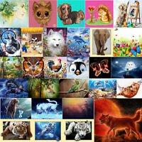 5D Art Full Drill Diamond Painting Cross Stitch Kits Embroidery Dogs Home Decors