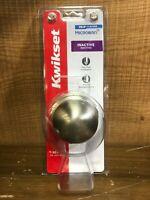 Kwikset Inactive Door Knob Satin Nickel | Model 488P 15 CP