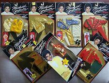 Michael Jackson - action figure + 6 costumi nelle loro confezioni originali