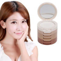 5 Colors Makeup Face Pressed Powder Contour Shading Concealer Foundation Palette