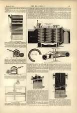 1874 Medidor de aire de Broadbent humo antirretorno campana de trampa De Vapor economía de combustible