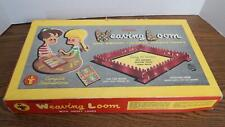 VTG 1954 Transogram Adjustable Metal Weaving Loom in Original Box