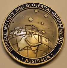 Australian Defence Imagery Geospatial Organisation DIGO Military Challenge Coin