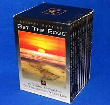 "ANTHONY ROBBINS ""GET THE EDGE""  7 cd SET PLUS BONUS CD 8 Total"