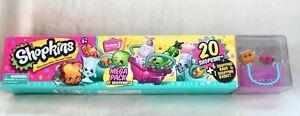 Shopkins Mega 20 Pack Season 3 *NEW* RARE Characters Vary Choc Frosted