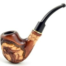 "Carved tobacco smoking pipe *Dragon* (for 9mm filter) | pipes - 6.1"" (15,5cm)"
