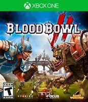 Blood Bowl II 2 - Xbox One Football Stragegy Game - New Sealed