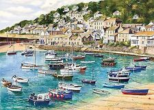 Gibsons Mousehole 1000 Piece Terry Harrison Jigsaw Puzzle G6127