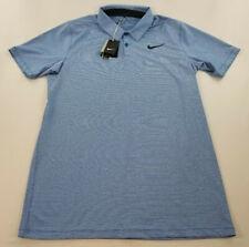 new Nike Golf men shirt polo stay cool standard 833097-433 blue L MSRP $75