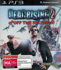 Dead Rising 2 Off the Record, Sony Playstation 3 game, PS3, USED