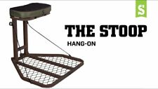 Summit The Stoop Hang on Treestand with seat cushion & full-body safety harness