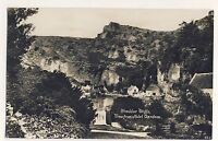 Vintage Postcard - Cheddar Cliffs View from Hotel Gardens - Unposted 2102