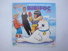 Disque 45T vinyl Disque 45T vinyl BO feuilleton TV Dessin animé Bibifoc