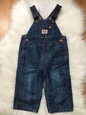 Levi's Kids Toddler Denim Jean Bib Overalls Snap Legs 18 Months