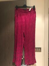 Zara Pink Printed Pyjamas Trousers. Size M