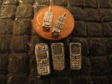 Handy Funk Telefon Modellauto Diorama Werkstatt Puppenstube Garage Deko 1/18