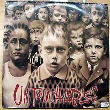 KORN UNTOUCHABLES DOPPIO LP 2002 MINT EPC 5017701