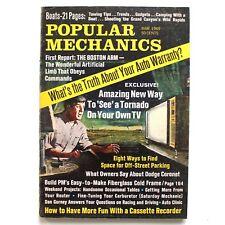 Popular Mechanics Magazine MARCH 1969 Dodge Coronet The Boston Arm Gadjets