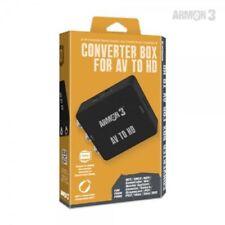 ARMOR 3 RCA AV To HDMI HDTV Converter For Nintendo 64 SNES Sega Sony PS1 PS2 PS3
