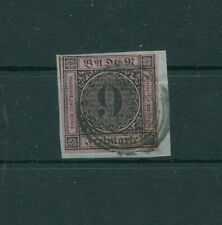 Germany Old Germany Baden 1851 Mi.4a Letter Piece Postmarked More See. Shop