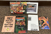 Donkey Kong Country SNES Super Nintendo Video Game Complete 1994