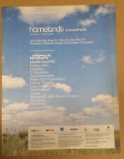 Homelands festival fat boy slim 1999 press advert Full page 29 x 37 cm poster