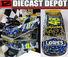 JIMMIE Johnson  2016 HOMESTEAD WIN RACED VERSION LOWE'S #48 CHEVY SS 1/24 Action