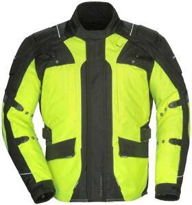 Tourmaster Womens Transition 4 Motorcycle Jacket Black, Hi-Viz, Grey Choose Size