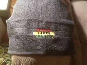 BLACK LIVES MATTER HAND TOWEL