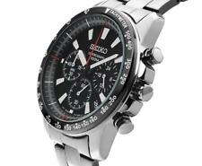 Seiko SSB031P1 Chronograph Stainless Steel 41mm Mens Watch