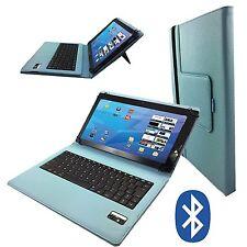 Bluetooth Deutsche Tastatur Samsung Galaxy Tab 2 10.1 zoll TABLET Tasche Türkis