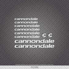 01039 Cannondale Bicycle Stickers - Decals - Transfers
