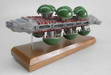 Botanical Cruiser Battlestar Galactica Spacecraft Kiln Dry Wood Model Large New