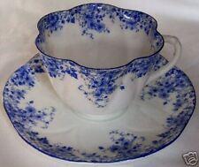 SHELLEY ENGLAND FINE BONE CHINA DAINTY BLUE CUP & SAUCER SET!