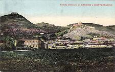 #CASSINO E MONTECASSINO: VEDUTA GENERALE - 1915