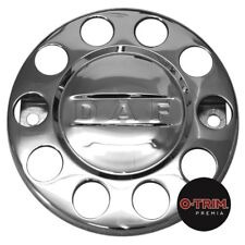 """1 Pair O-Trim 10 Stud 22.5"""" Nut rings for DAF stainless steel"""