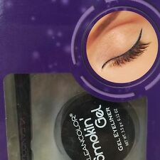 KLEANCOLOR SMOKIN ' Gel Eyeliner Wild Eggplant( PURPLE )with Professional Brush
