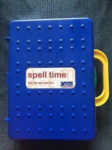 Cadaco Spell Time Learning activity alphabet tile game 4+