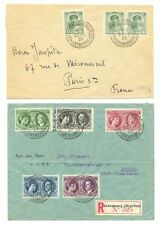 LUXEMBOURG 1927/1936 -- 4 x COVER ---F/VF
