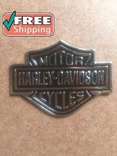 Harley Davidson Badge Gas Fuel Tank Emblems Logo Just peel and stick it HD NEW.