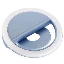 Neewer Blue 36 Led Clip-on Rechargable Selfie Cellphone Ring Light