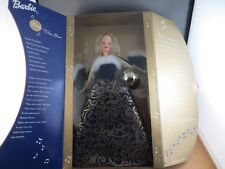 2001 Ring in the Happy New Year Blonde Barbie Doll Musical Plays Auld Lang Syne