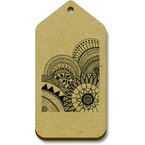 'Circle Pattern' Gift / Luggage Tags (Pack of 10) (TG017764)