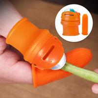 Thumb Knife Kitchen Garden Finger Cutter Finger Protector Fruit Picker ONY